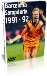 بارسلونا 1 - 0 سمپدوریا - فینال 92