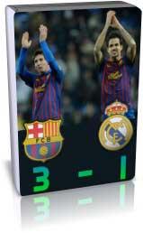 بارسلونا 3 - 1 رئال مادرید- لالیگا 2012