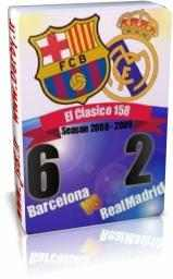 رئال مادرید 2 - 6 بارسلونا - لالیگا 2009