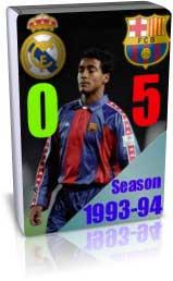 بارسلونا 5 - 0 رئال مادرید - لالیگا 1994