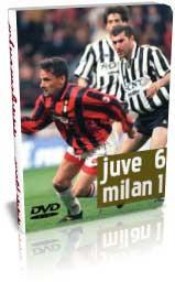 یوونتوس 6 - 1 میلان- لیگ ایتالیا 98