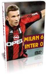 میلان 6 - 0 اینتر - لیگ ایتالیا 2000