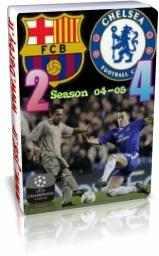 چلسی 4 - 2 بارسلونا - اروپا 2005