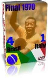 برزیل 4 - 1 ایتالیا - فینال 1970