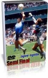 آرژانتین 2 - 1 انگلیس -یک چهارم 1986