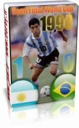 برزیل 0 - 1 آرژانتین - جام جهانی 1990
