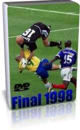 فرانسه 3 - 0 برزیل - فینال 1998
