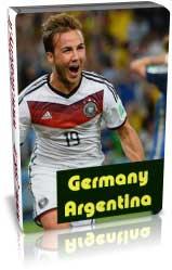 آلمان 1 - 0 آرژانتین - فینال 2014