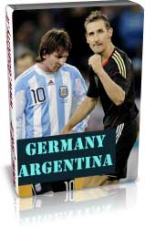 آلمان 4 - 0 آرژانتین - جام جهانی 2010