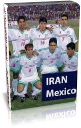 ایران 1-2 مکزیک (دوستانه دی 78)