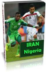 ایران 0 - 0 نیجریه ( جام جهانی 2014 )
