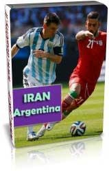 ایران 0 - 1 آرژانتین ( جام جهانی 2014 )