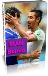 ایران 1 - 3 بوسنی (جام جهانی 2014)