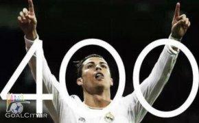 دانلود کلیپ تمام 400 گل کریستیانو رونالدو از سال 2003 تا 2014 در تیم های مختلف