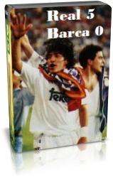 رئال مادرید 5-0 بارسلونا - 1995