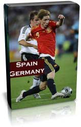 اسپانیا 1-0 آلمان - فینال یورو 2008