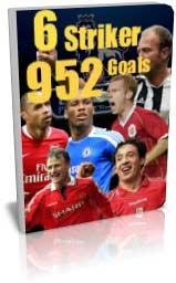 مجموعه 952 گل از 6 بازیکن لیگ برتر انگلیس