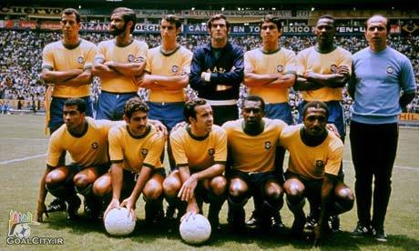 کلیپ گلچین گلها و بازیهای تیم ملی برزیل در جام جهانی 1970