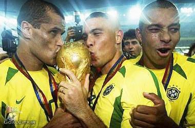 دانلود گلها و گلچین قهرمانی برزیل در جام جهانی 2002