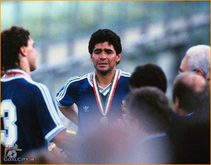 خلاصه بازی آرژانتین آلمان غربی در فینال جام جهانی 1990 - ایتالیا