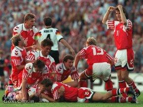 خلاصه بازی دانمارک آلمان در فینال یورو 1992 - سوئد