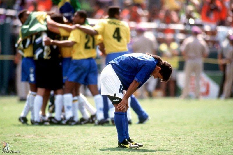 خلاصه بازی برزیل ایتالیا در فینال جام جهانی 1994 - امریکا