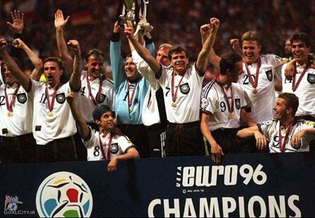 مروری بر تاریخچه یورو 1996