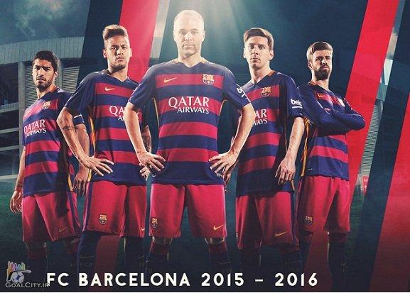 دانلود کلیپ همه گلهای بارسلونا در فصل 16-2015